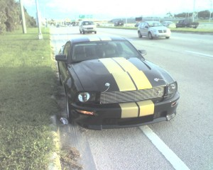 The Hertz Mustang was a great ride, but renting it was like closing on a house.
